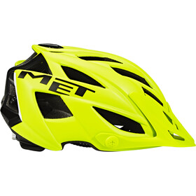 MET Terra Helm matt yellow fluo/black